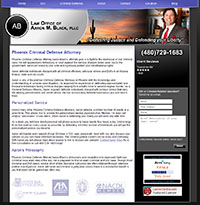 Aaron Black Law Website
