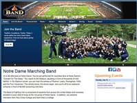 ND Band Website Redesign