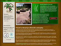 Manzanita Landscaping Website