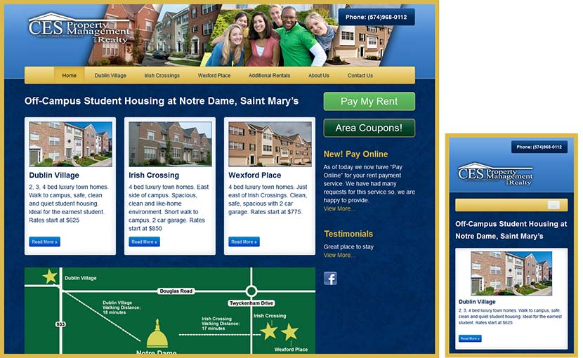 Responsive Web Design for Property Management Websites