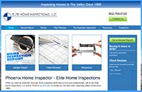 Elite Home Inspections Website